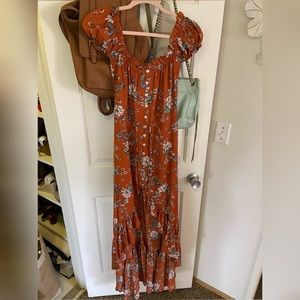 Small high low Vici maxi dress